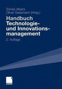 Cover des Buches Handbuch Technologie und Innovationsmanagement. Herausgegeben von Sönke Albers und Oliver Gassmann