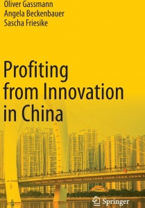 Cover of the book Profiting from Innovation in China